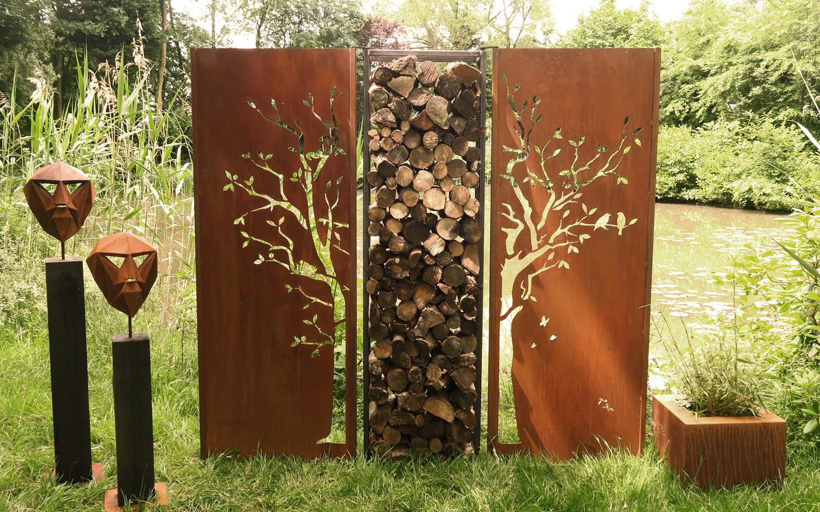 Atelier 51 gemeinschaftsatelier f r kunst design for Gartendeko aus rostigem stahl