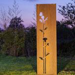 Sichtschutz Gartenwand 54x195 cm